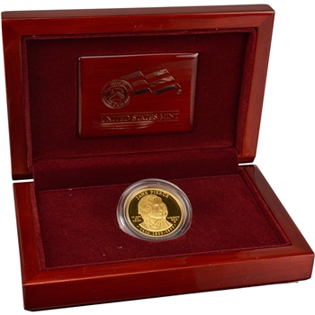 2010-W US First Spouse Gold (1/2 oz) Proof $10 - Jane Pierce