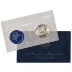 1974 US Eisenhower Uncirculated Silver Dollar - Blue Ike 40% Silver
