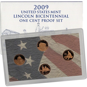 2009 US Mint Lincoln Bicentennial Proof Set