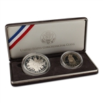 1989 US Congressional 2-Coin Commemorative Proof Set