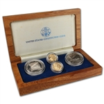 1987 US Constitution 4-Coin Commemorative Set