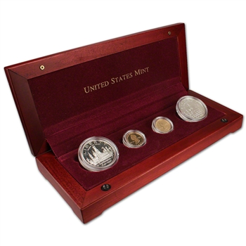 1996 US Smithsonian Institution 4-Coin Commemorative Set