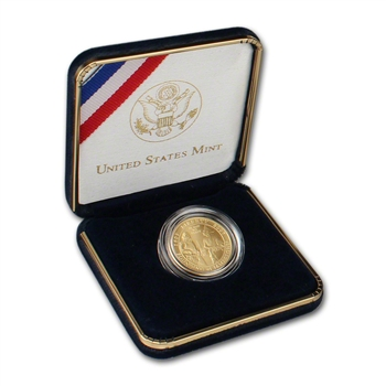 2007-W US Gold $5 Jamestown 400th Anniversary Commemorative BU
