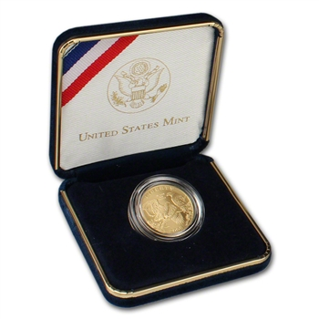 2008-W US Gold $5 Bald Eagle Commemorative BU