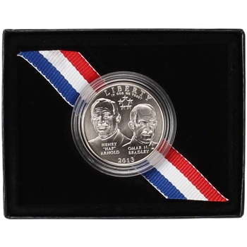 2013-D US 5-Star Generals Commemorative BU Half Dollar