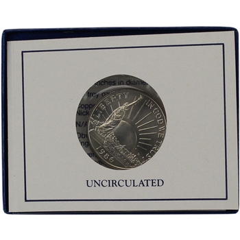 1986-D US Statue of Liberty Commemorative BU Half Dollar