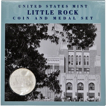 2007 US Little Rock Commemorative Coin and Medal Set