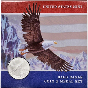 2008 US Bald Eagle Commemorative Coin and Medal Set