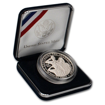 2010-P US Boy Scouts of America Centennial Commemorative Proof Silver Dollar