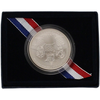 2011-S US Medal of Honor Commemorative BU Silver Dollar