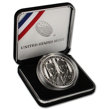 2013-P US 5-Star Generals Commemorative Proof Silver Dollar