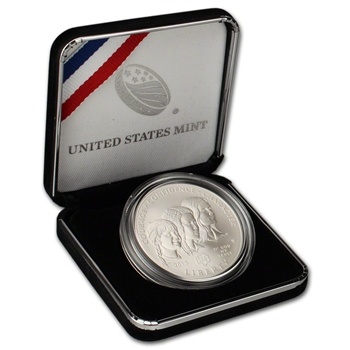 2013-W US Girl Scouts Centennial Commemorative BU Silver Dollar