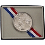 1983-P US Olympic Commemorative BU Silver Dollar