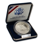 1987-P US Constitution Commemorative BU Silver Dollar