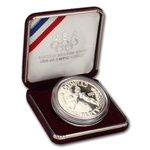 1988-S US Olympic Commemorative Proof Silver Dollar