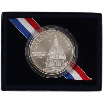1994-D US Capitol Commemorative BU Silver Dollar