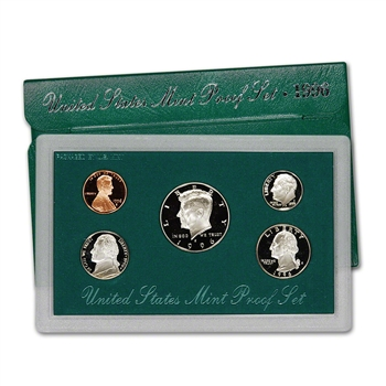 1996-S US Mint Proof Set