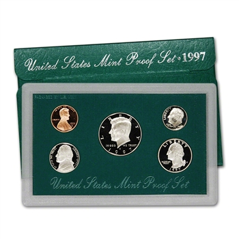 1997-S US Mint Proof Set
