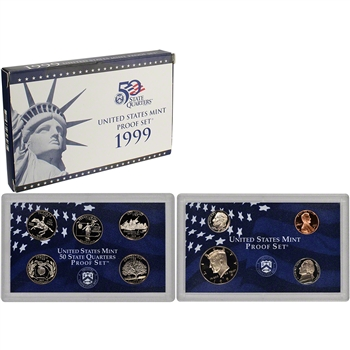 1999-S US Mint Proof Set