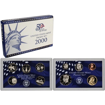 2000-S US Mint Proof Set