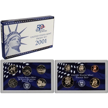2001-S US Mint Proof Set