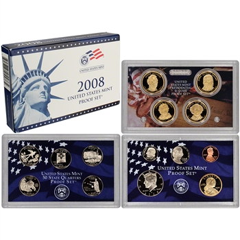2008-S US Mint Proof Set