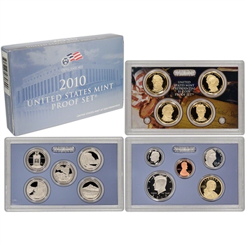 2010-S US Mint Proof Set