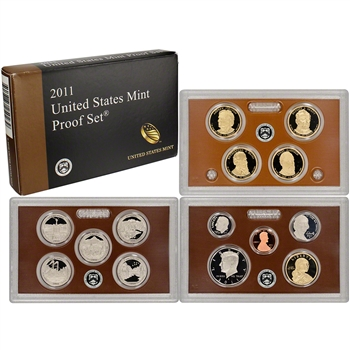 2011-S US Mint Proof Set