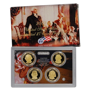 2007-S US Mint Presidential $1 Coin Proof Set