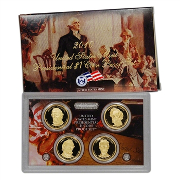 2010 US Mint Presidential $1 Coin Proof Set