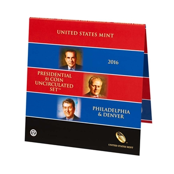 2016 US Mint Presidential $1 Coin Uncirculated Set (16P2)