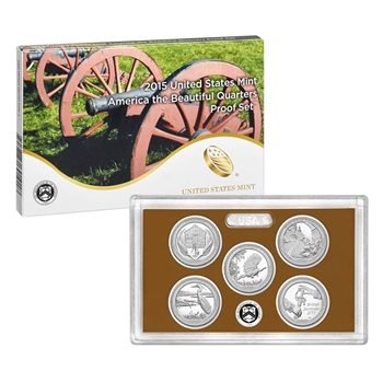 2015 United States Mint America the Beautiful Quarters Proof Set? (Q5G)