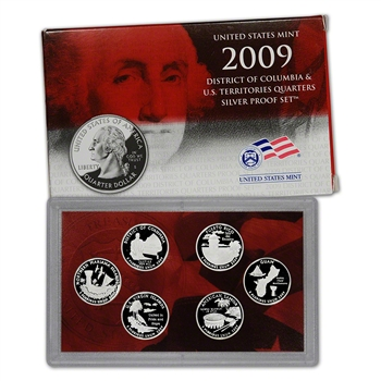 2009-S US Mint Quarters Silver Proof Set