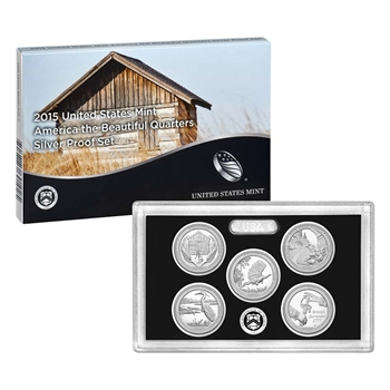 2015 United States Mint America the Beautiful Quarters Silver Proof Set? (Q5H)