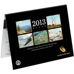 2013 America the Beautiful Quarters Uncirculated Coin Set (N96)
