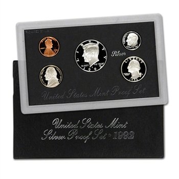 1992-S US Mint Silver Proof Set