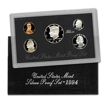 1994-S US Mint Silver Proof Set