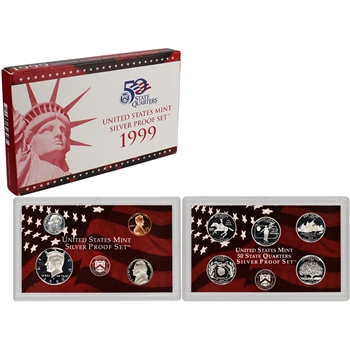 1999-S US Mint Silver Proof Set