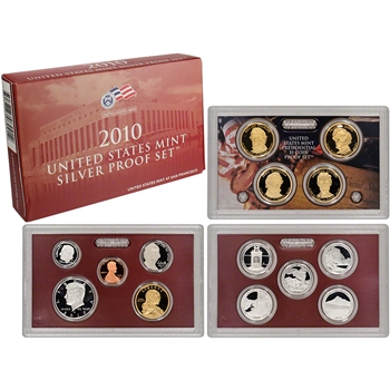 2010-S US Mint Silver Proof Set