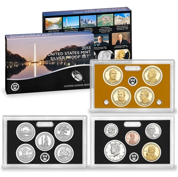 2013-S US Mint Silver Proof Set (SV8)