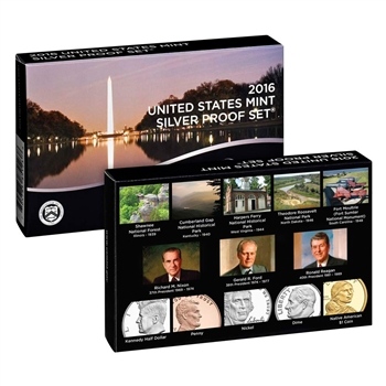 2016 US Mint Silver Proof Set (16RH)
