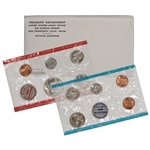 1969 US Mint Uncirculated Coin Set