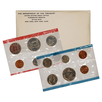 1972 US Mint Uncirculated Coin Set
