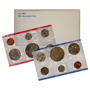 1976 US Mint Uncirculated Coin Set