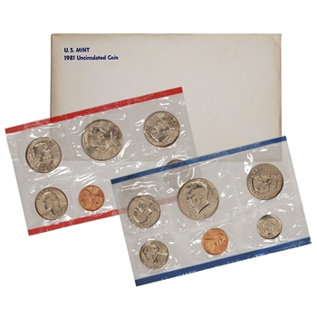 1981 US Mint Uncirculated Coin Set