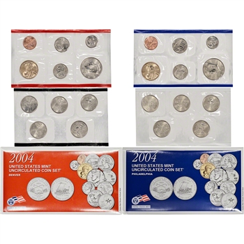 2004 US Mint Uncirculated Coin Set