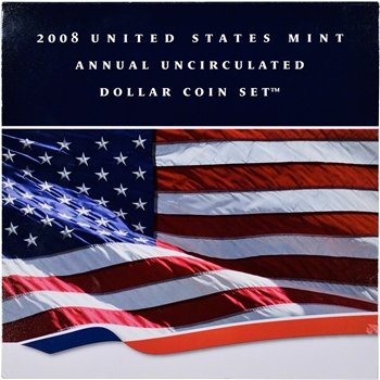 2008 US Uncirculated Dollar Coin Set