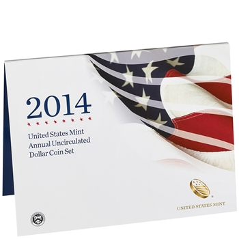 2014 United States Annual Uncirculated Dollar Coin Set (XA6)
