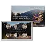 2005 US Mint Westward Journey Nickel Series Coin Set