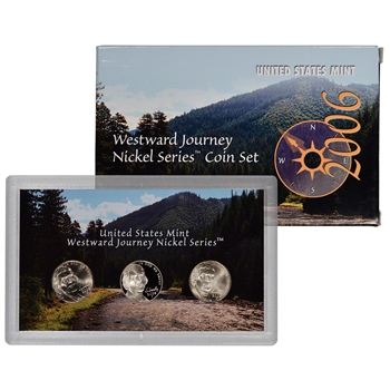 2006 US Mint Westward Journey Nickel Series Coin Set